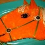 loshad 150x150 Салат формой в виде лошади Кум.